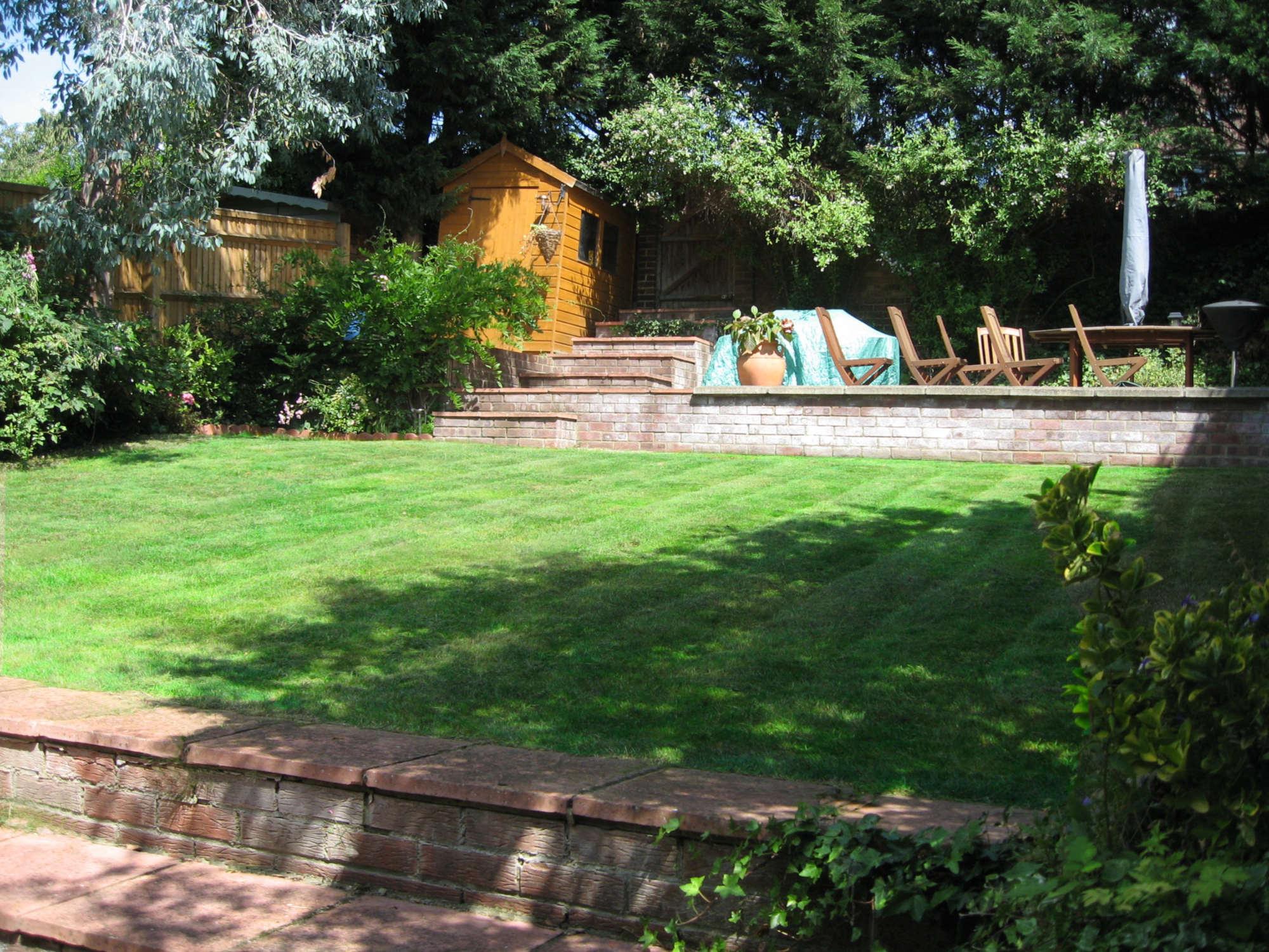 Domestic Terraced Garden